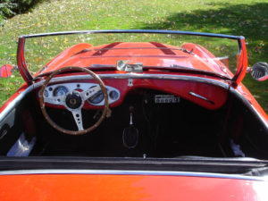 1953 Austin Healey BN-1 dashboard