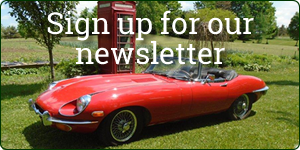 KM British Cars Newsletter Sign up