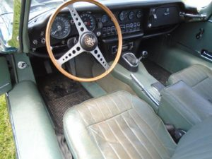 1970 Jaguar E Type 2+2 Coupe Dashboard