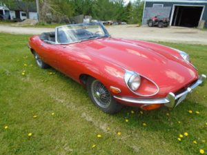 1970 Jaguar E Type O.T.S.
