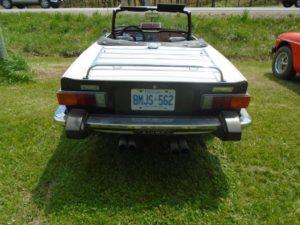 1976 Triumph TR-6 Backend