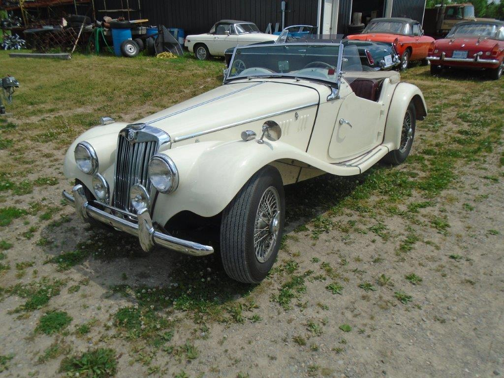 1954 MG TF-SOLD