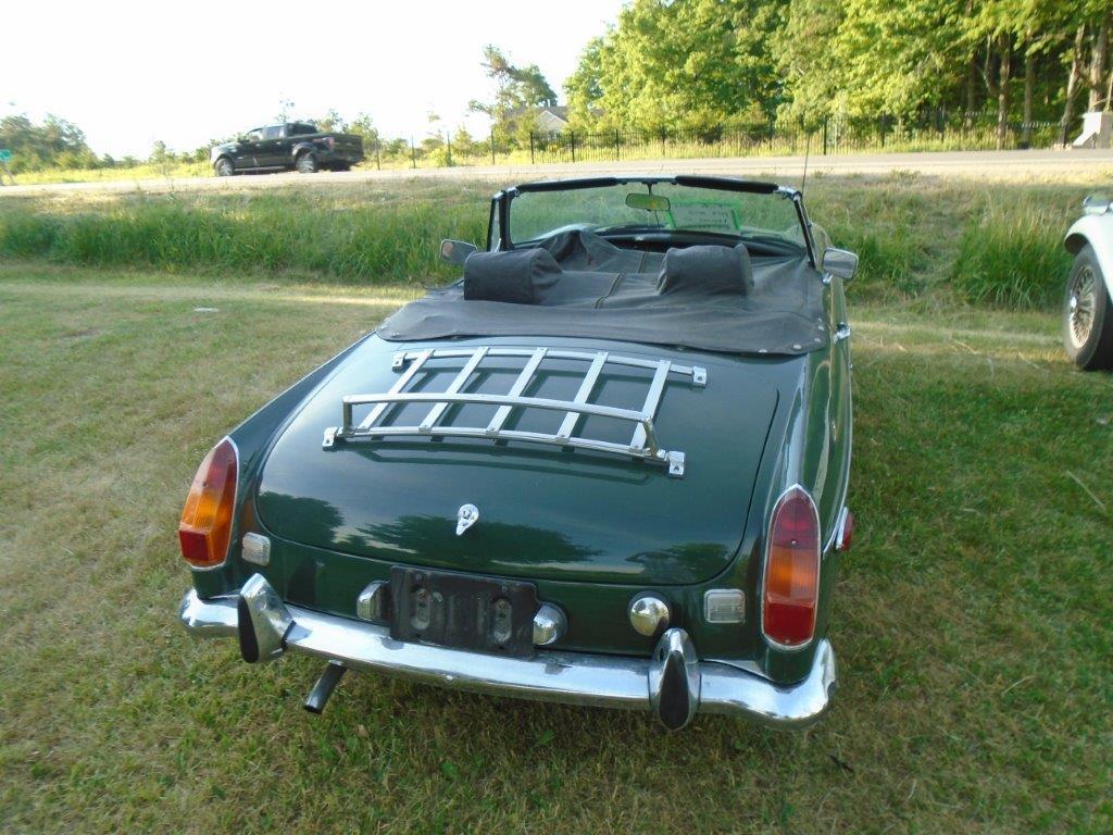 1974 British Racing Green MGB-SOLD! – KM Restorations | Vintage ...