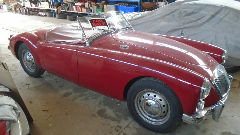 1961 MGA Tourer | KM Restorations | Vintage British Cars